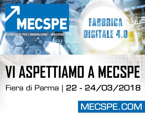 Rivi vi invita a MECSPE 2018!